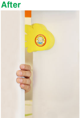 Ideal for use on doors that needs to remain open continually or temporally such as toilet / bathroom doors office doors or doors leading out to the play ...  sc 1 st  Safe Doors Australia & www.safedoorsaustralia.com - Anti-Slam Door Stopper